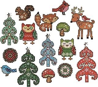 Tobin Woodland 14 Count Friends Ornament Plastic Canvas Kit - DW1694