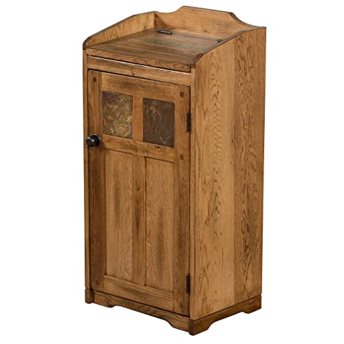 Wooden Kitchen Garbage Cans Amazon Com