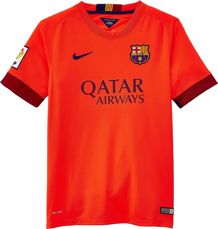 Nike 2014/15 FC Barcelona Stadium Away - Camiseta de fútbol: Amazon.es: Ropa y accesorios