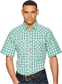 Short Sleeve 20X Competition AC Shirt Plaid