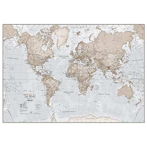 Large World Map Amazon.World Map Amazon Com