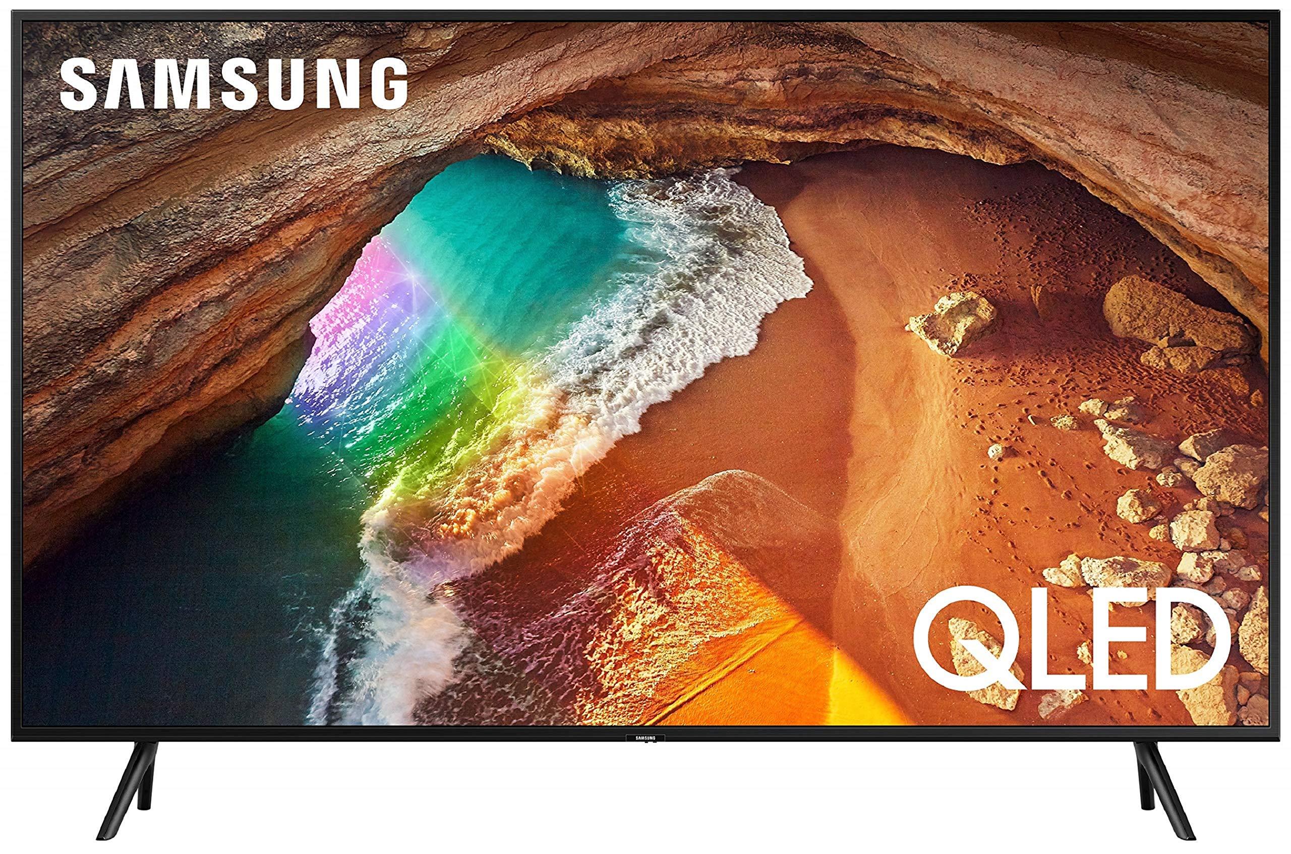 Samsung 108 cm (43 Inches) 4K Ultra HD Smart QLED TV QA43Q60RAKXXL (Black) (2019 Model)