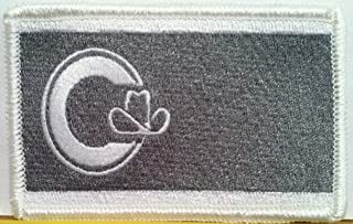 Calgary Flag Tactical Iron on Patch Alberta Province Canada Military Emblem #2456
