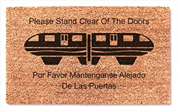stand clear of the doors
