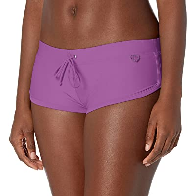Body Glove Smoothies Sidekick Solid Sporty Bikini Bottom Swimsuit Short