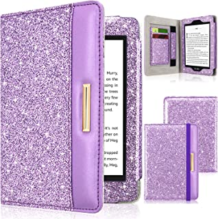 DMLuna Case for Kindle Paperwhite(Fits All-New 10th Generation 2018 / All Paperwhite Generations), Folio Premium PU Leathe...