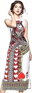 Best queen of hearts print dress Reviews