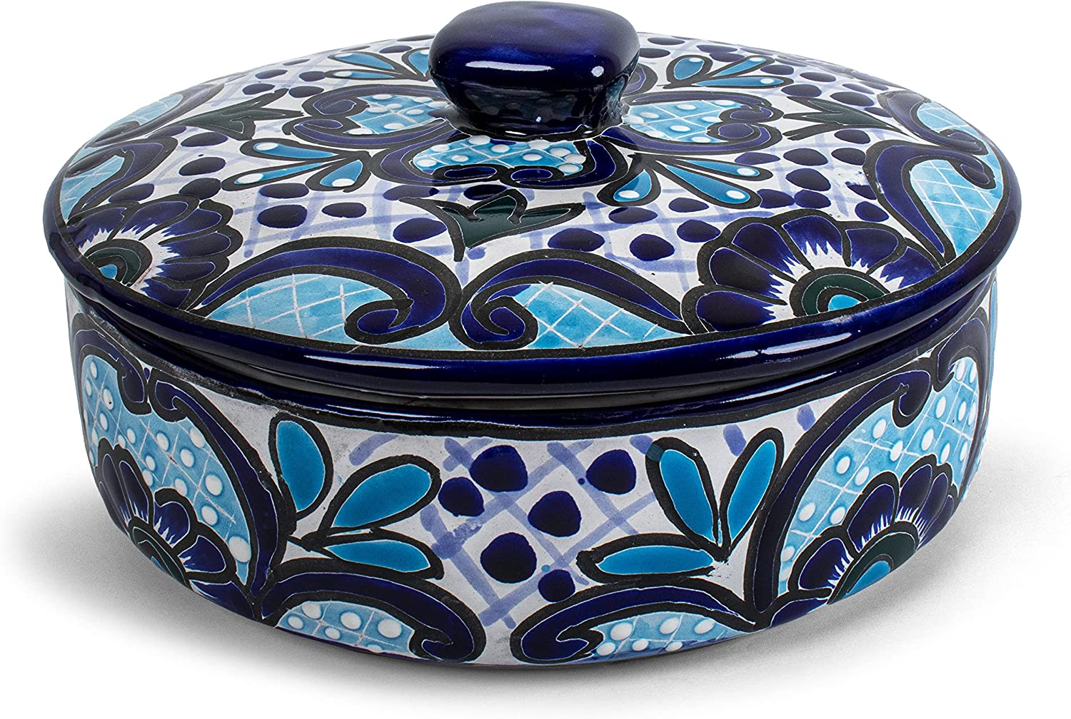 Genuine Mexican Talavera unisex Hand Tortillero Ceramic 2021 autumn and winter new Painted Tortill