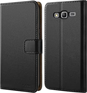 HOOMIL Case Compatible with Samsung Galaxy Grand Prime, Premium Leather Flip Wallet Phone Case for Samsung Galaxy Grand Prime Cover