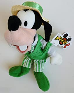 "Retired Out of Production Mickey Mouse Clubhouse 8"" Plush Quartet Goofy Bean Bag Doll New with Tags"