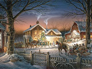 Buffalo Games - Terry Redlin - Trimming the Tree - 1000 Piece Jigsaw Puzzle
