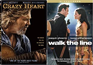 Country Music Stars DVD Collection - Walk the Line & Crazy Heart 2-Movie Bundle