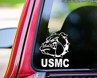 Minglewood Trading USMC Bulldog Head Chesty Vinyl Decal Sticker 5