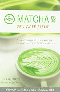 Aiya Matcha Zen Cafe blend stick packs 12ct (1 box)