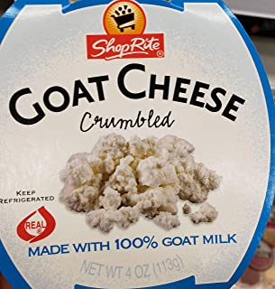 2 pack of Shop Rite Goat Cheese Crumbled 4 oz (Total 8oz)