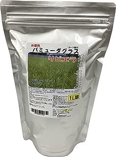 福花園種苗 西洋芝種子 バミューダグラス『リビエラ』 種子1L詰 211772