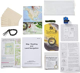 Stanford Outdoor Supply Navigation B.O.S.S. Bug Out Bag Survival Kit w/Compass