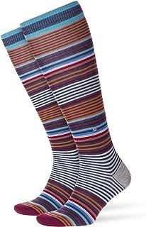 Stripe Calcetines altos, para Hombre