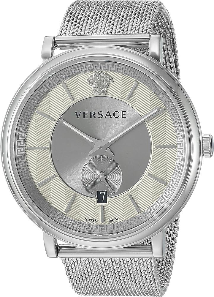 Versace orologio analogico uomo  in acciaio inox VBQ060017