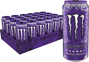 Ultra Violet, Sugar Free Energy Drink, 16 Ounce (Pack of 24)
