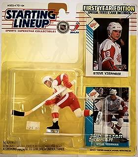 1993 Steve Yzerman Detroit Red Wings Kenner SLU Starting Lineup NHL Hockey figure