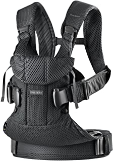 Sponsored Ad - BabyBjörn New Baby Carrier One Air 2019 Edition, Mesh, Black, One Size (098025US)