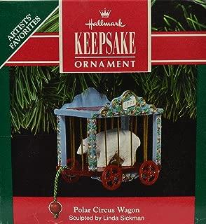 Hallmark Ornament Polar Circus Wagon