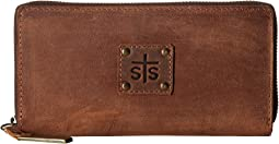 STS Ranchwear - The Baroness Bi-Fold Zip-Wallet