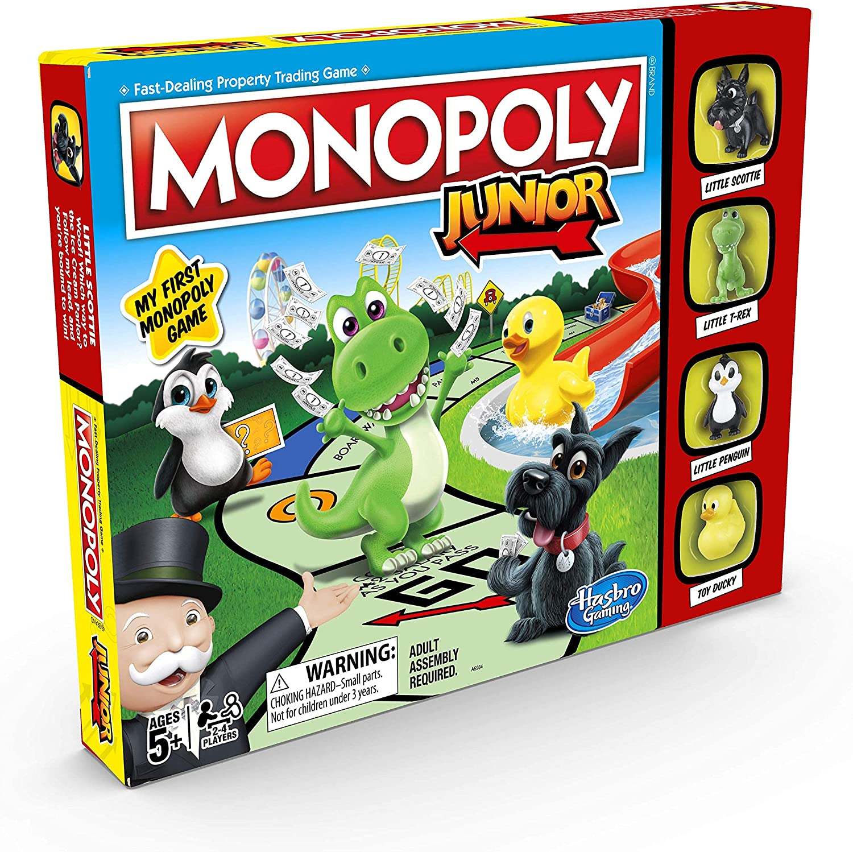 5. Hasbro Monopoly Junior Game