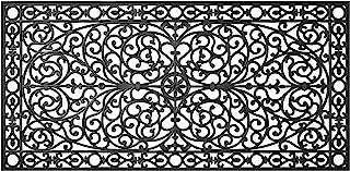Calloway Mills AZ900223672 Gatsby Rubber Doormat, 3' x 6', Black