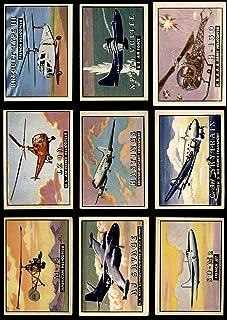 1952 Topps Wings 50 Card Starter Set/Lot (Card) Dean`s Cards 3 - VG