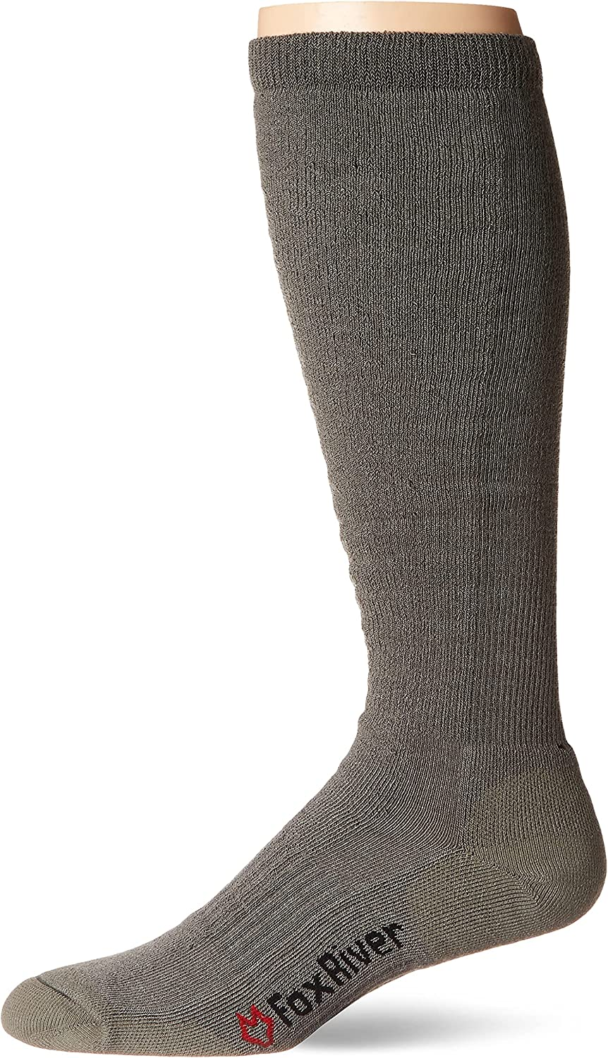 Fox Luxury River Men's Fatigue Fighter Over-The-Calf Socks Upgrade Max 74% OFF with