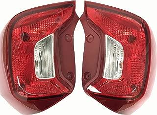 1 Pair Back tail light For Kia Picanto Morning Eurostar Rear Brake Parking Turn signal lamp 2018 2019