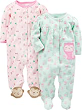 Simple Joys by Carter's Girls' 2-Pack Cotton Footed