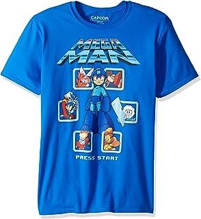 American Classics Mega Man Mm1 Selct Screen Remix Adult Short Sleeve T-Shirt