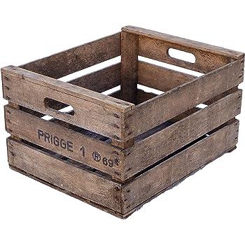 Cajas de fruta Rolf de la antigua tierra para vino, cajas de fruta, cajas de madera muy antiguas: Amazon.es: Bricolaje y herramientas