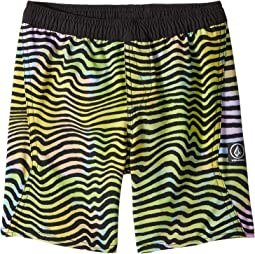 Volcom Kids - Vibes Volley Boardshorts (Toddler/Little Kids)