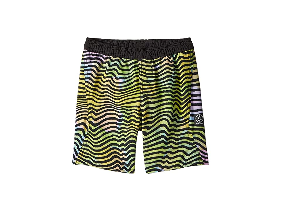 Volcom Kids Vibes Volley Boardshorts (Toddler/Little Kids) (Multi) Boy