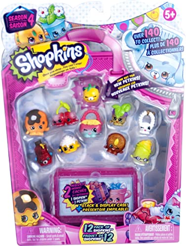 Shopkins Série 4 - pack de 12