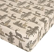 """product image for Glenna Jean Timberline Crib Sheet Fitted 28""""x52""""x8"""" Nursery Standard"""