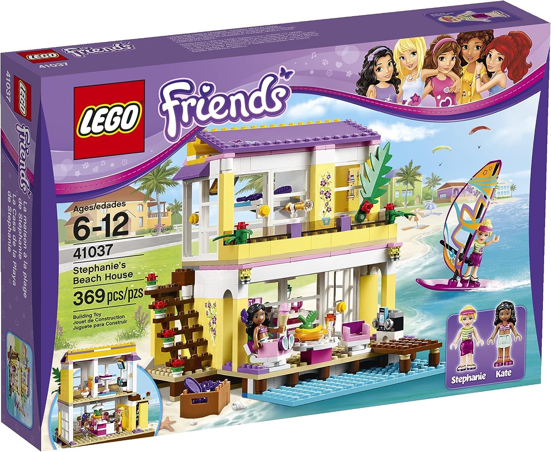 LEGO Friends 41037 Stephanie's Beach House, 369 Pcs B00GSN5FBW  Berühmter Laden      Primäre Qualität