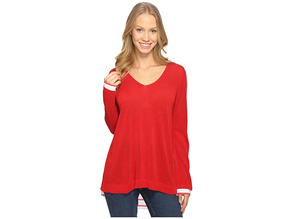 NYDJ Twofer Sweater (Red Ribbon) Women