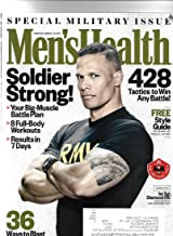 Mens health magazine march 2018 { Special Military Issue} { Postal label On Front}