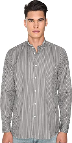 Regular Fit Micro Stripe Button Up