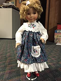 Edwin M. Knowles - Goldilocks - Porcelain Doll - Heroines from the Fairy Tale Forest Series - COA - Dianna Effner Creation - 15 Inches Tall - w/ Doll Stand - Rare - Out of Production - New