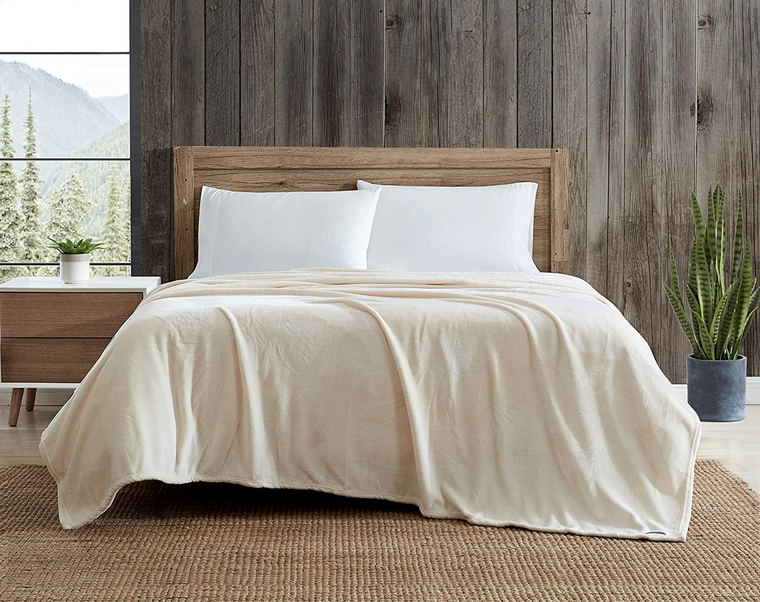 Eddie Bauer High quality new Ranking TOP7 Home Ultra-Plush Collection Soft Blanket-Super