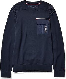 Men's Crew Neck Sweater with Pocket