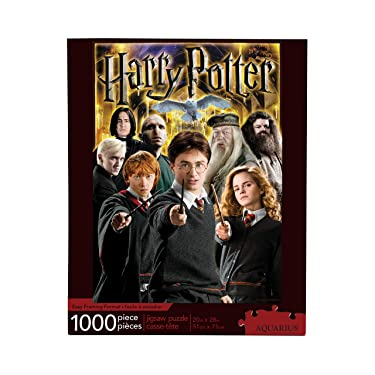 Aquarius Harry Potter Collage 1,000 Piece Jigsaw Puzzle,Multi-colored