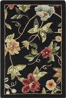 Best black floral wool rug Reviews