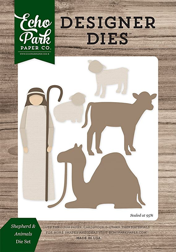 Echo Park Paper Company Shepherd & Animals Die Set